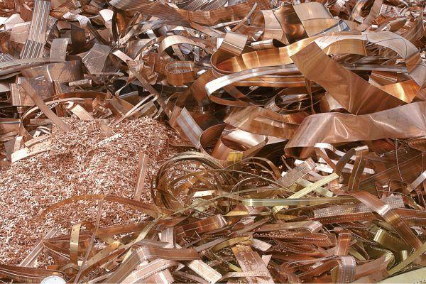 Reciclaje de cobre